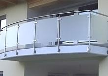 Balconi in acciaio